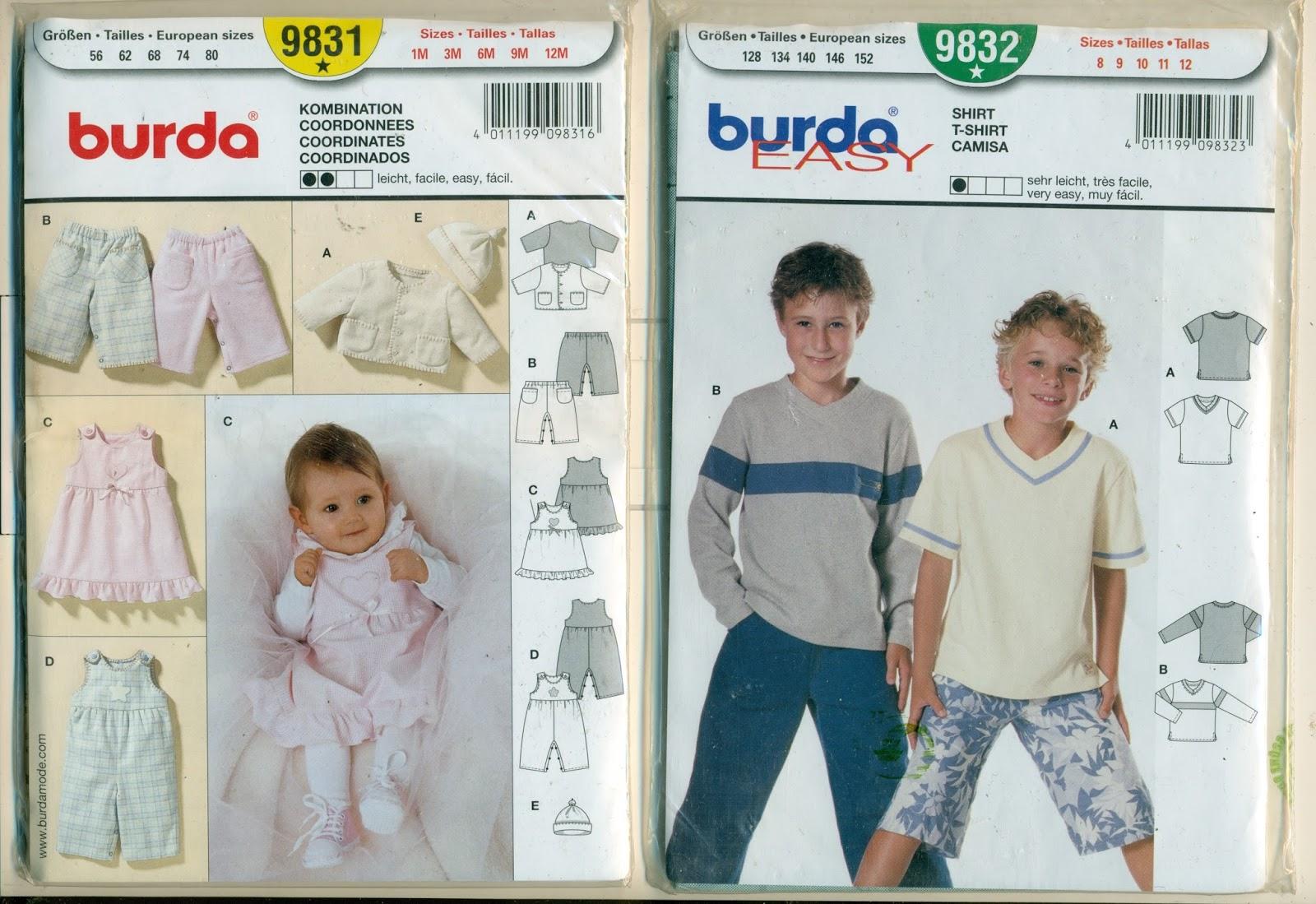 Журнал бурда с выкройками для детей