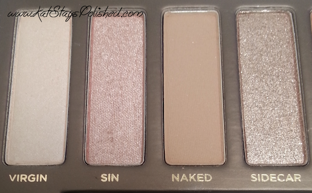 Urban Decay Naked Palette - Virgin | Sin | Naked | Sidecar