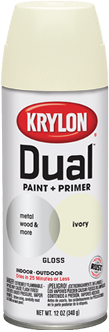 krylon my favorite spray painting brand that has both paint and primer. Black Bedroom Furniture Sets. Home Design Ideas