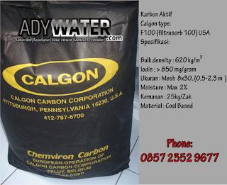 Jual Karbon Aktif Calgon Filtrasorb 100, Active carbon, Carbon Calgon