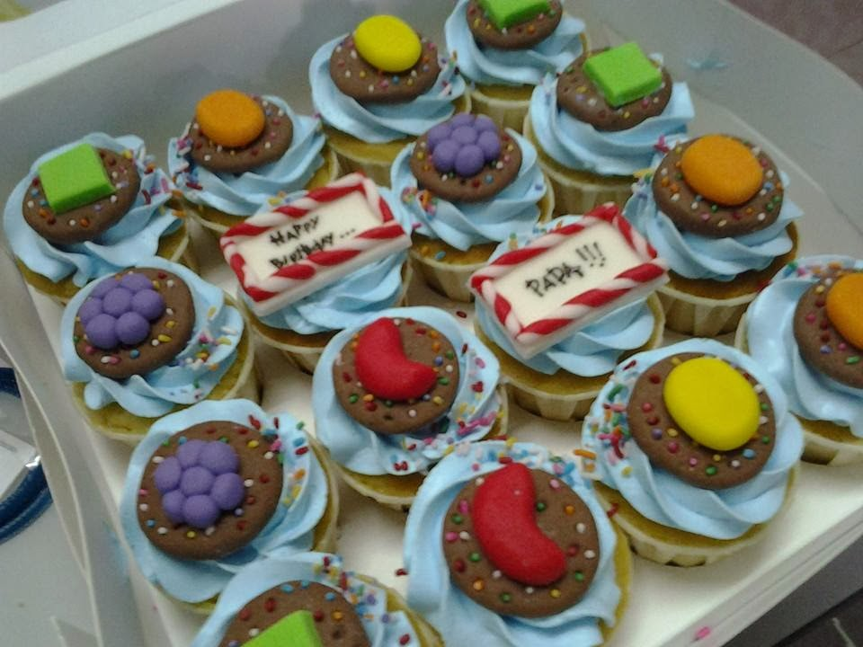 Candy Crush Cupcakes
