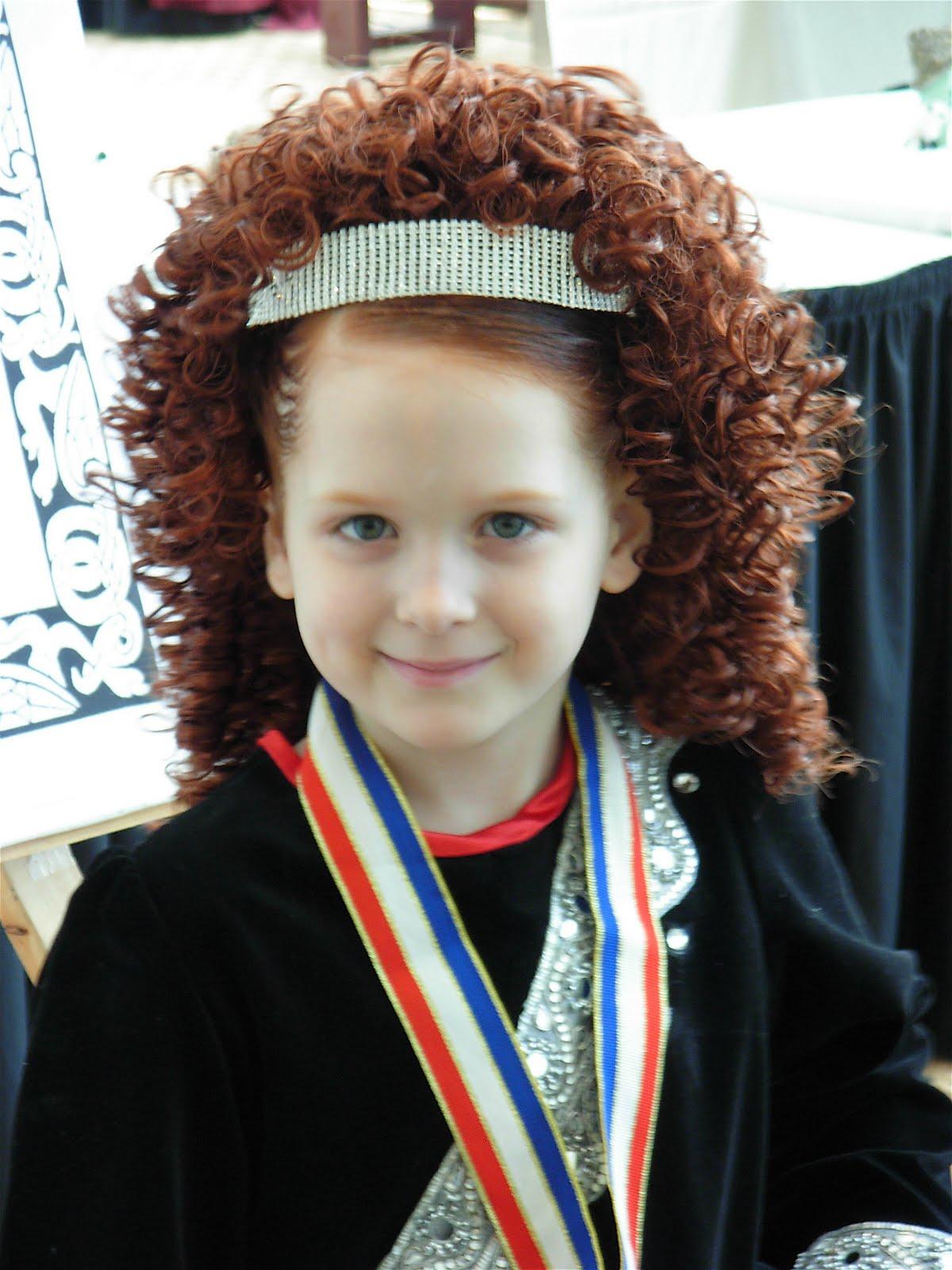 Irish Dance Hair   the gallery for gt irish dancing hair
