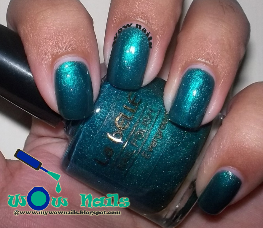 WoW Nails: La Belle Nail Polish Evergreen Swatches and Review