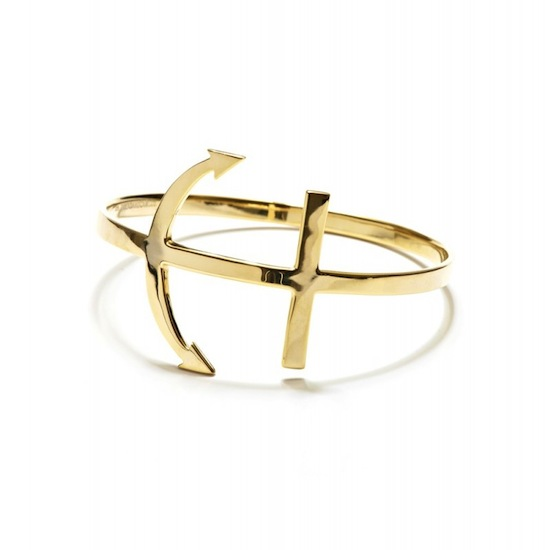 Dallas + Carlos Gold Triton Bracelet