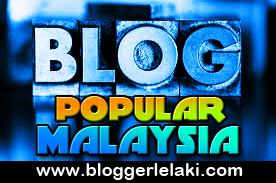 Blogger Lelaki Popular Malaysia 2013