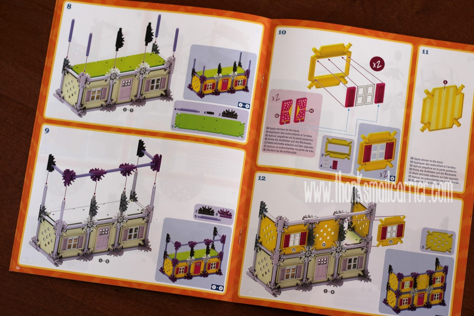 K'nex Mighty Makers instructions