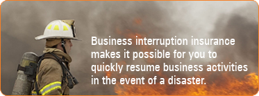 disaster, business interruption, insurance, interruption