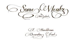 fuentes gratis para crear tarjetas bodas