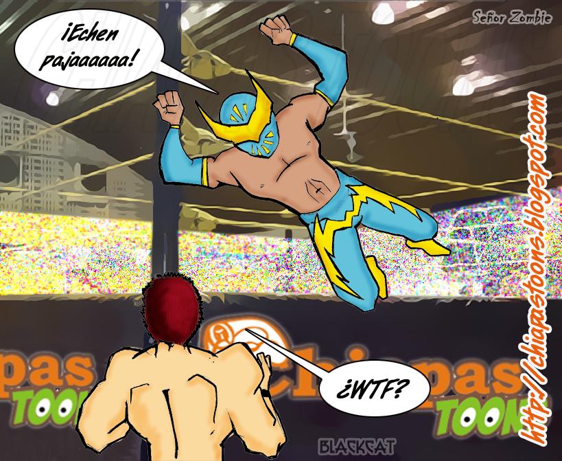 Chiapas Toons: Místico-SinCara- debuta en la WWE