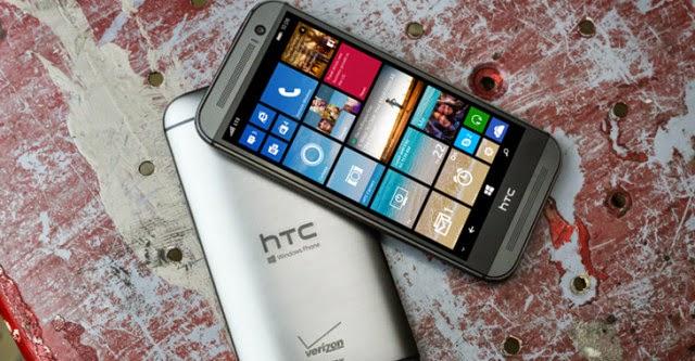 One (M8) phiên bản Windows Phone pin lâu hơn phiên bản Android