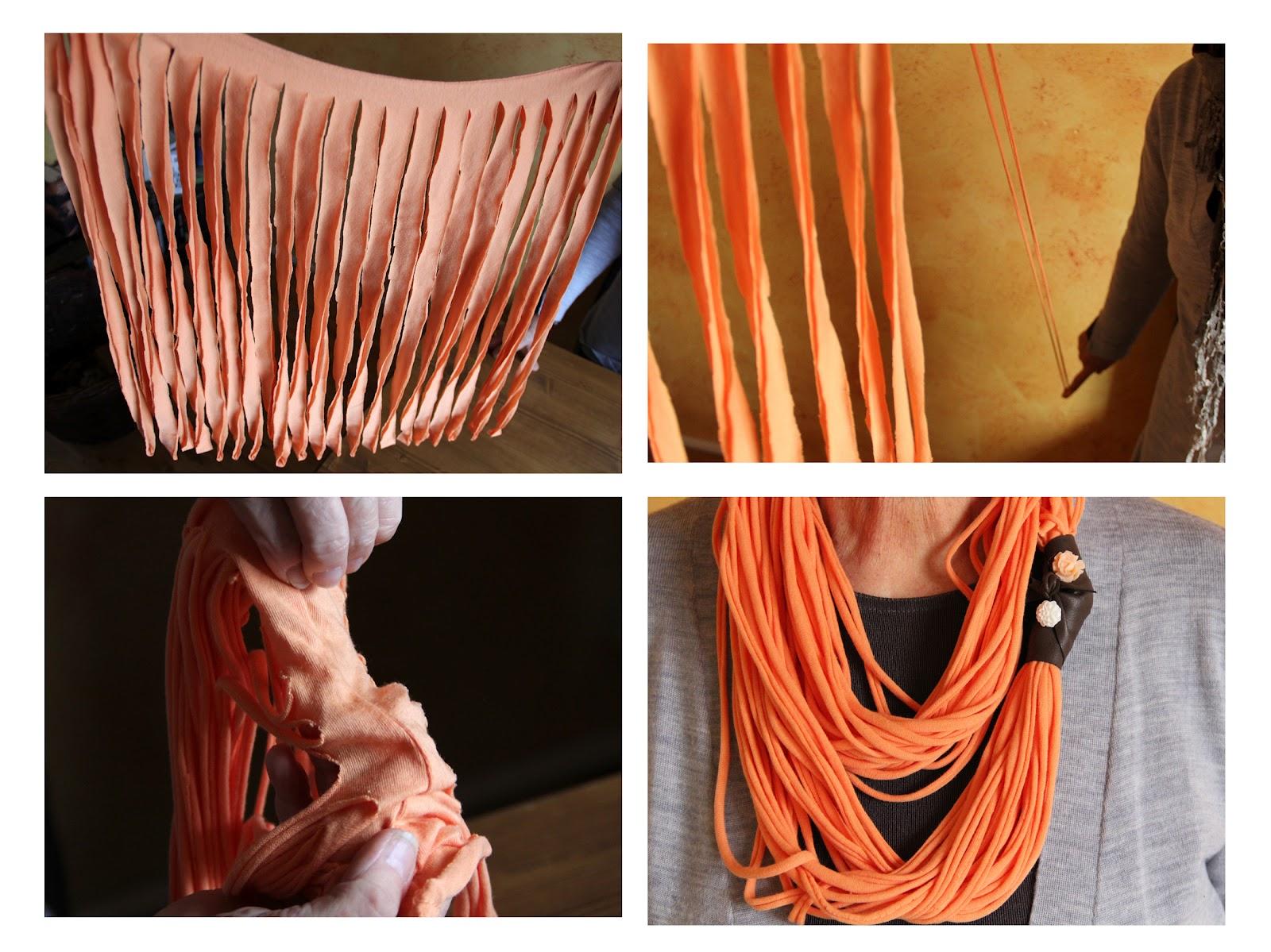 coffeeshop alice diy t shirt schal t shirt scarf t shirt recycling. Black Bedroom Furniture Sets. Home Design Ideas