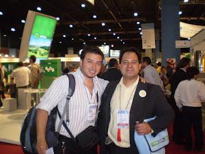 APIMONDIA 2011. Ecuador y Argentina se saludan