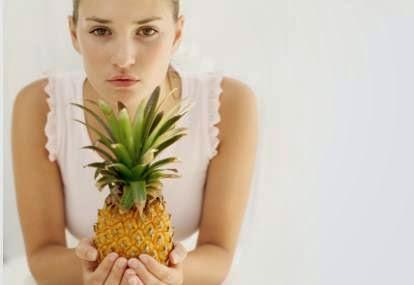 penyebab keputihan, makanan pemicu keputihan, mitos dan fakta tentang keputihan, benarkah nanas pemicu munculnya keputihan