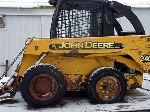 John Deere 240 skid steer parts