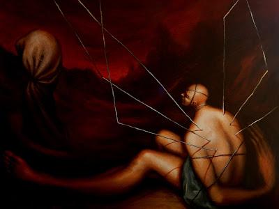 Serie: Imposibilitados, del artista contemporáneo Abisay Puentes