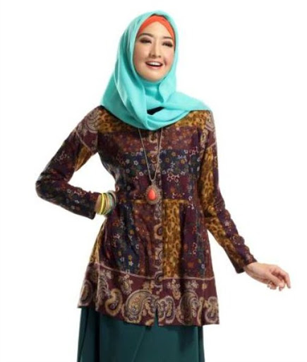 ModelBaju24 Model Baju Batik Trend 2016