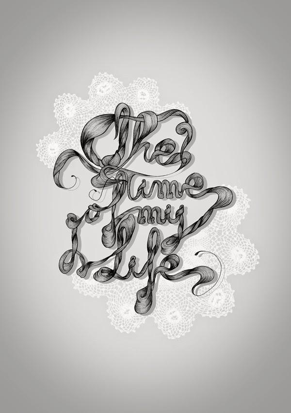Lettering Tattoo, http://distopiamod.blogspot.com