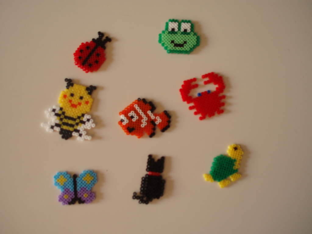 Hama Bead Animals