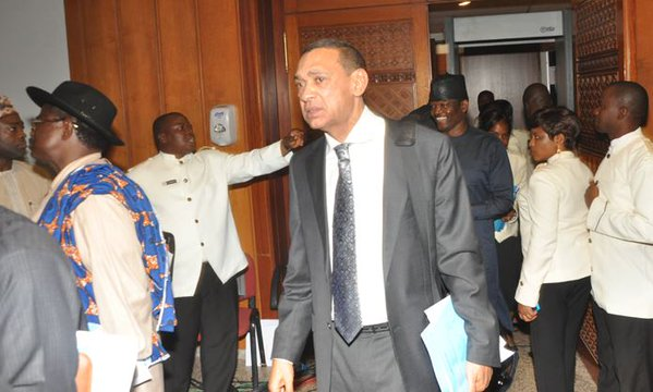 PDP senators protest on Amaechi ministerial confirmation and walk out