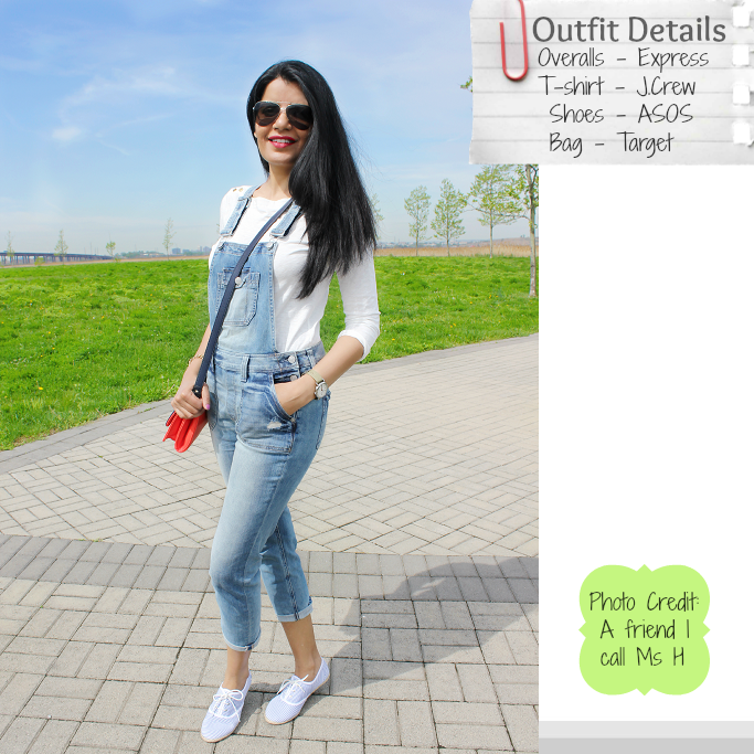 Denim Overalls, How to wear denim overalls, Denim overalls for adults, Target Colorblock Satchel,