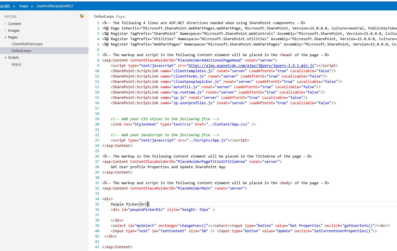 Sharepoint user profile objects sp userprofiles js
