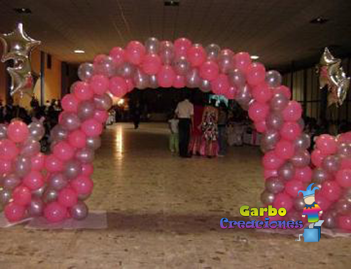 Garbo creaciones decoracion con globos toda ocasion for Todo decoracion