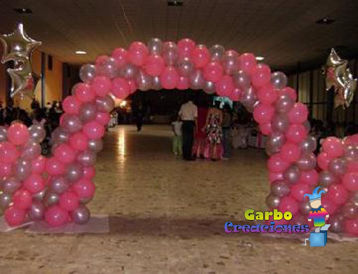 Fotos de decoracion con globos bautizo boda comunion - Decoracion bodas con globos ...