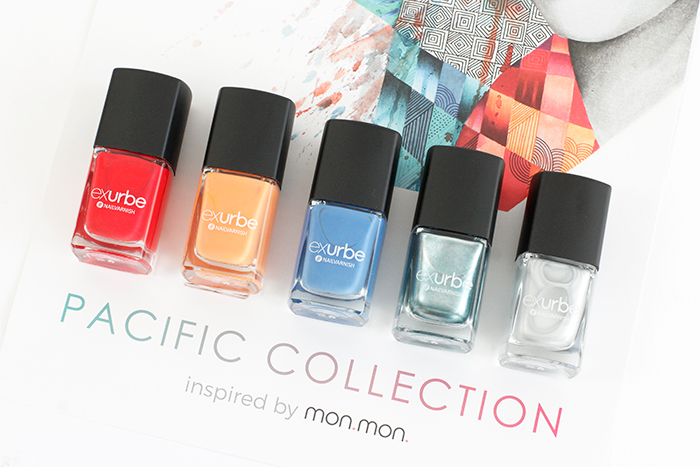 exurbe Nail Polish: Pacific Collection by mon.mon.
