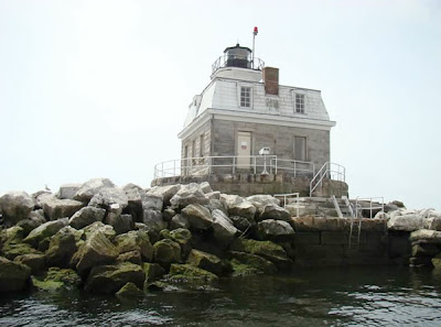 Scary Penfield Lighthouse Exterior