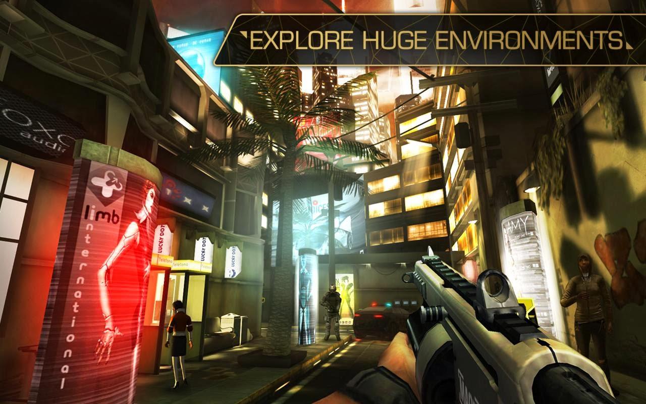 Deus Ex: The Android Game ,