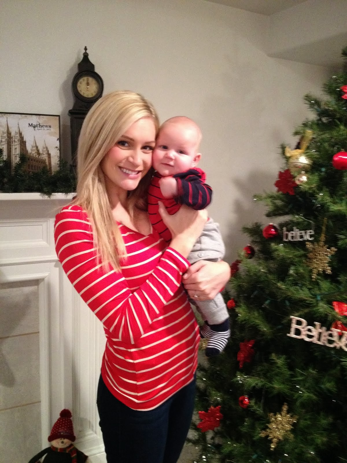 Mommy and Christian