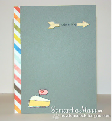 Brie Mine card using Just Say Cheese Stamp set