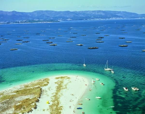 Lugares paradisiacos de Galicia