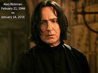 Alan Rickman February 21, 1946 to January 14, 2016