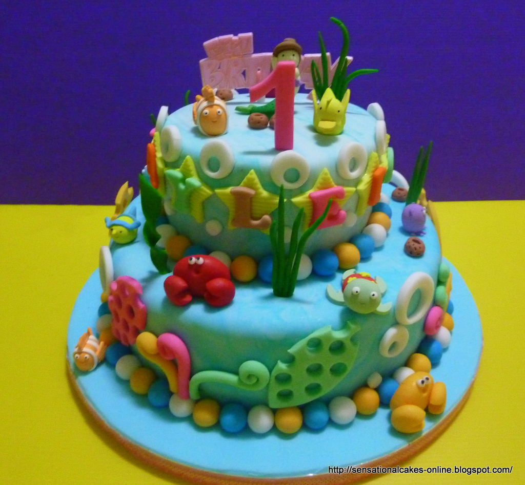 The Sensational Cakes 3D under Water Theme cake Singapore