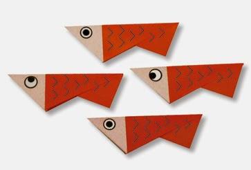 Hướng dẫn cách gấp con Cá Cơm bằng giấy đơn giản - Xếp hình Origami với Video clip