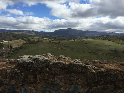 View from Ronda toward Parque Natural Sierra de las Nieves