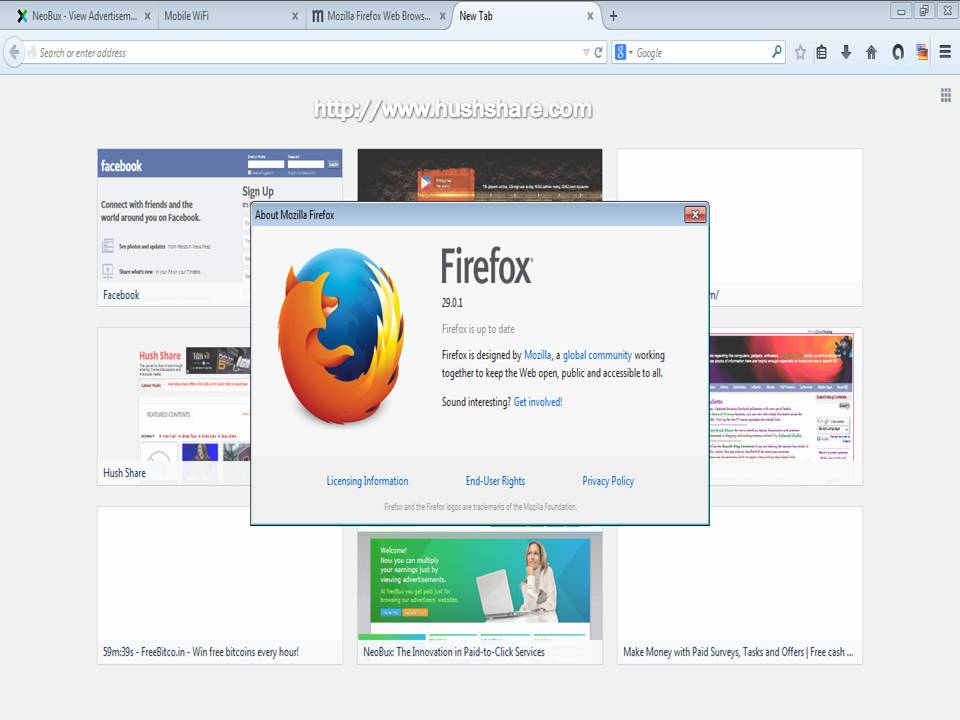 Mozilla Firefox ver 29 update new look download