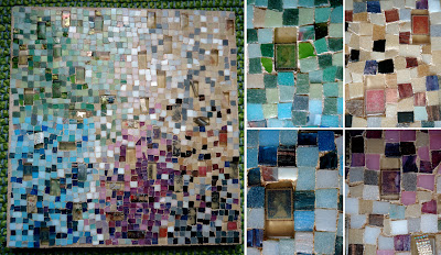postage stamp mosaic