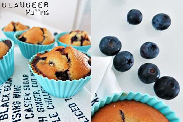 Blaubeer-Muffins nach Donna Hay