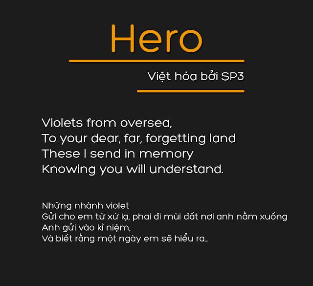 [Sans-serif] Hero Regular Việt hóa