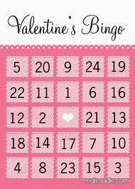 Valentine's Day Bingo 1