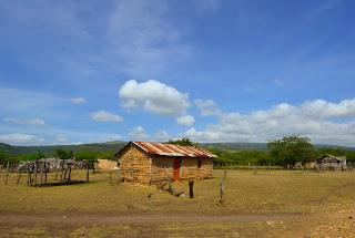 Casa de bareque en Fonseca. Foto: Jorge Bela
