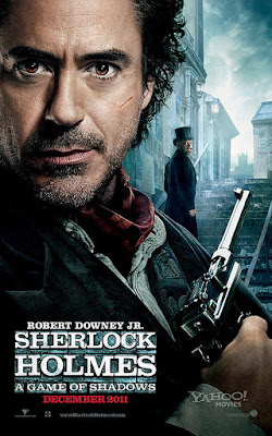 Sherlock Holmes 2 A Game of Shadows movie poster robert downey jr