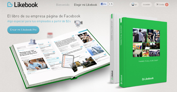 Crea un album con el contenido de Facebook