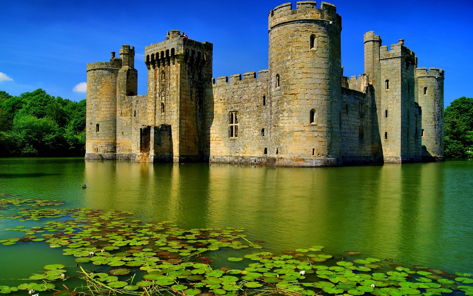 Bodiam Castle The Mysteries Of The World