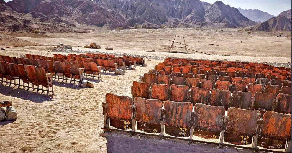 Il cinema fantasma nella penisola del Sinai