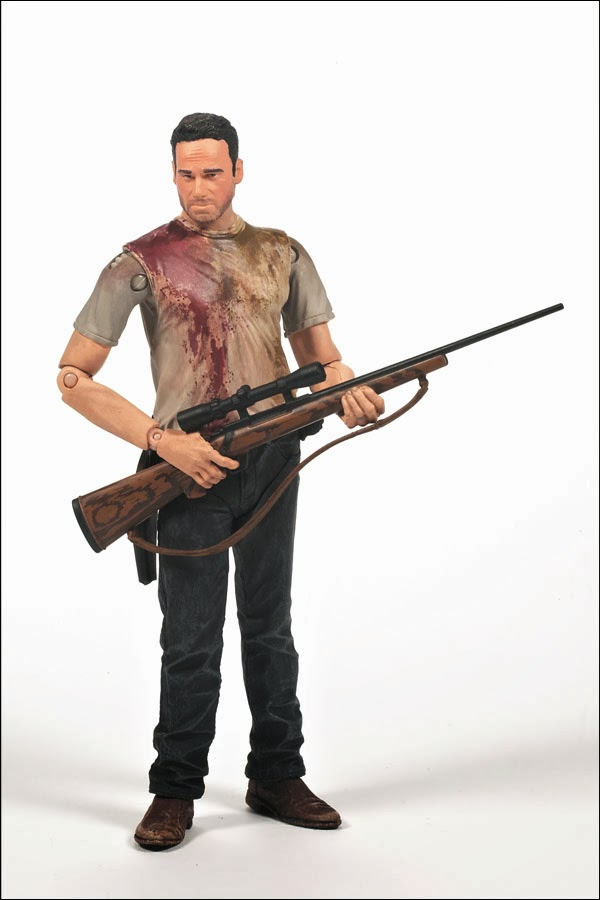 "Walgreens Exclusive ""Prison Attire"" Rick Grimes The Walking Dead Television Action Figure by McFarlane Toys"