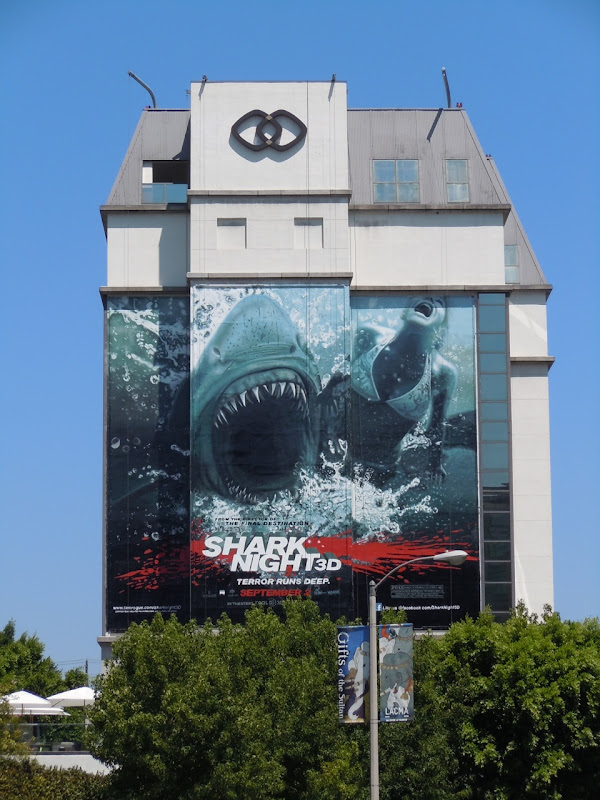 Shark Night 3D billboard