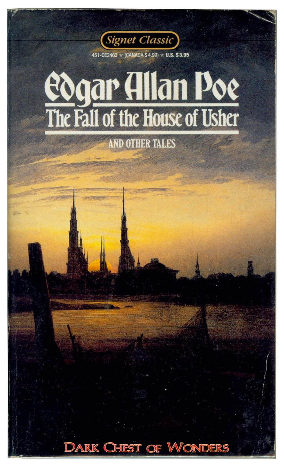 an assessment of the short story the fall of the house of usher by edgar allan poe Transcendental philosophy is at the very center of edgar allan poe's the fall of the house of usher this short story flows with rich details and dark overtones inviting the reader into a.